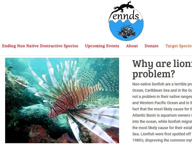ENNDS.org Ending Non-Native Destructive Species