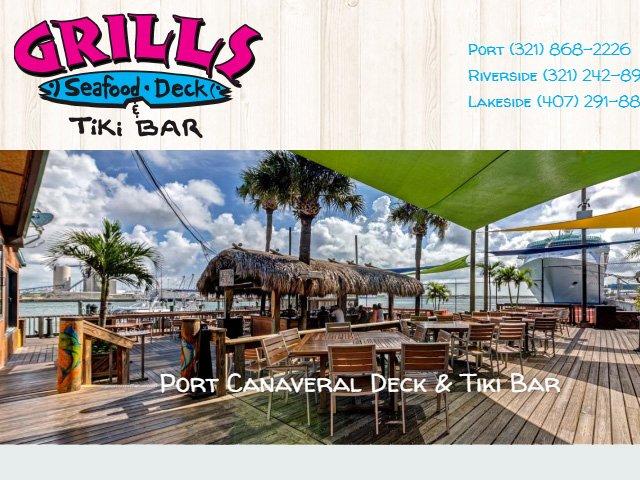 Grills Seafood Deck & Tiki Bar Lakeside Orlando, FL
