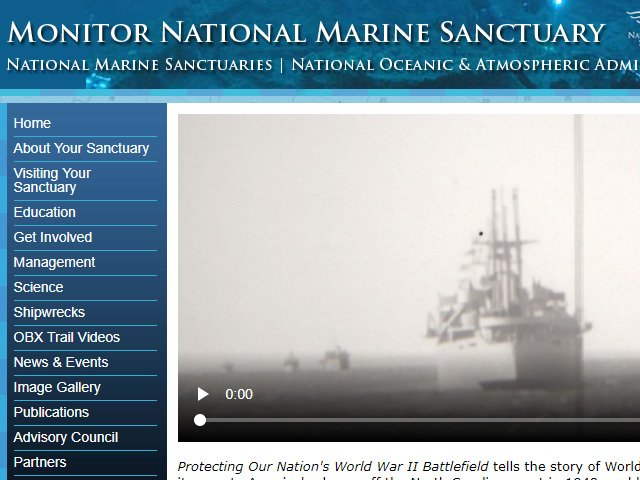Monitor National Marine Sanctuary Lionfish News