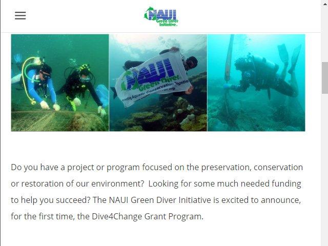 NAUI Green Diver Lionfish News