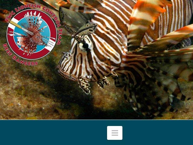 FWC Reef Rangers Lionfish News
